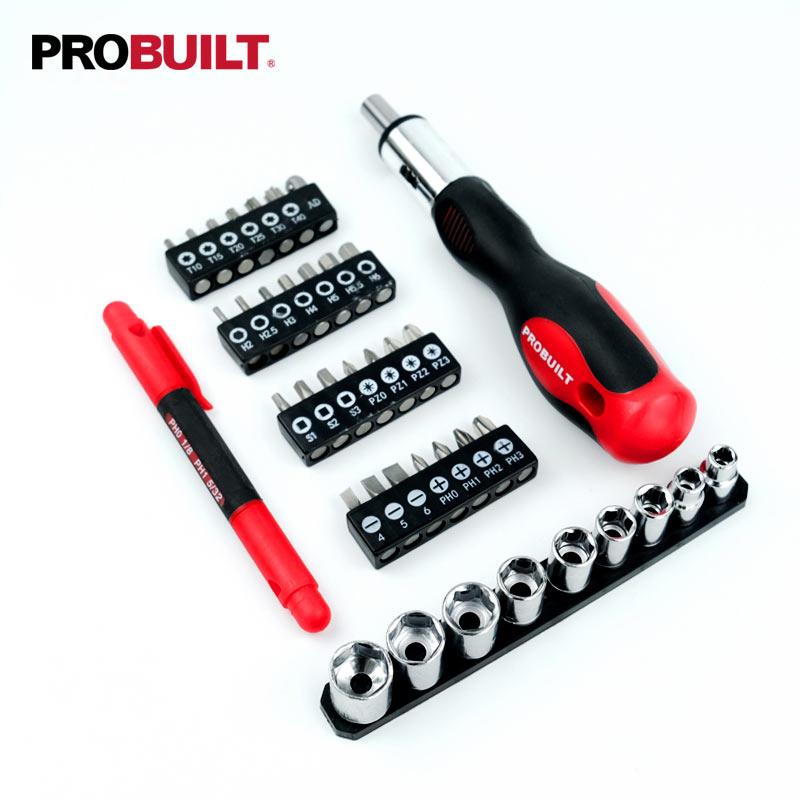 39PC Rratchet bit & Socket Set