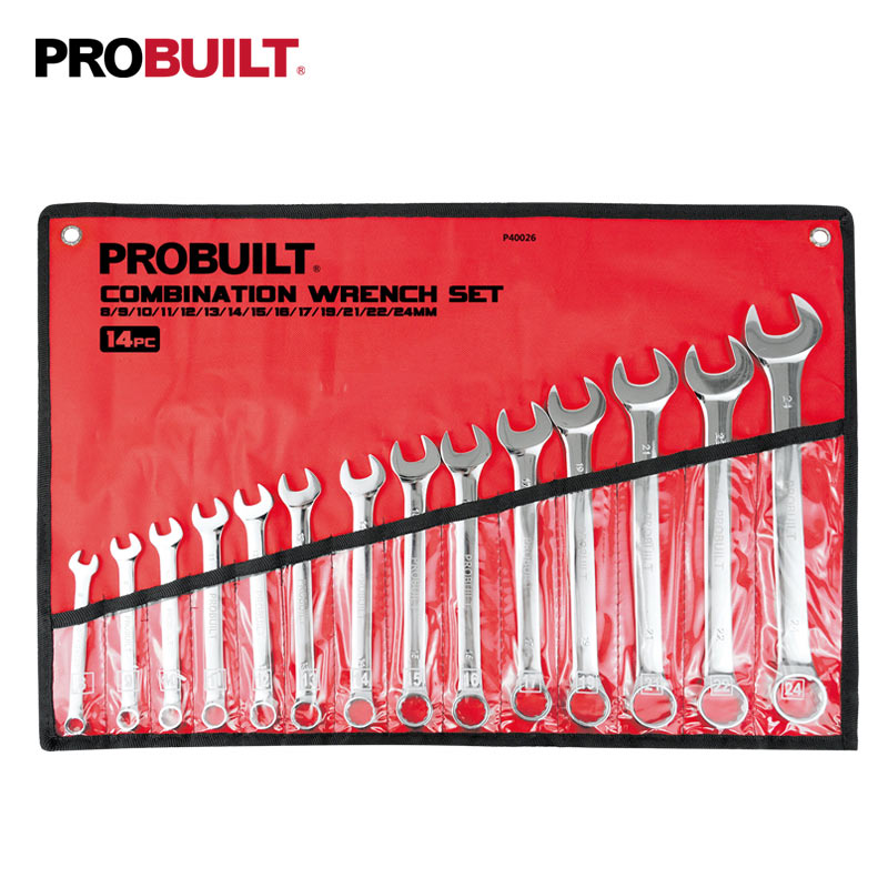 14PC Combination Wrench Set